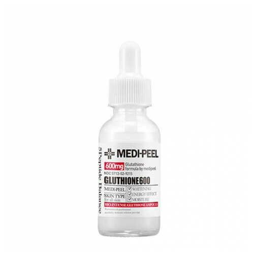 MEDI-PEEL Bio-Intense Gluthione 600 White Ampoule сыворотка для лица против пигментации, 30 мл medi peel 5gf bor tox peptide ampoule сыворотка для лица с эффектом ботокса 30 мл