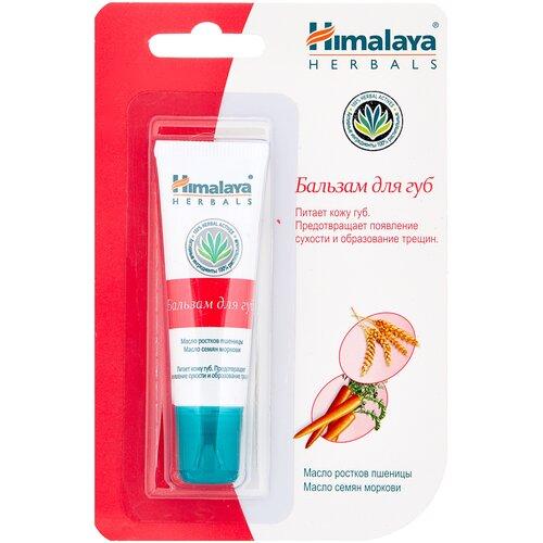 Himalaya Herbals Бальзам для губ с маслом семян моркови интенсивно увлажняющий бальзам для губ himalaya herbals с маслом какао 4 5 мл