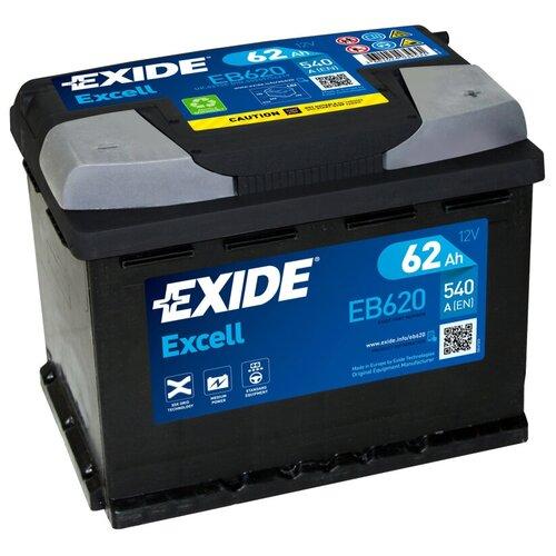 Автомобильный аккумулятор Exide Excell EB620