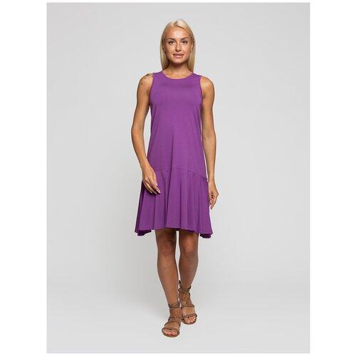 Женское легкое платье сарафан, Lunarable пурпурное, размер 50