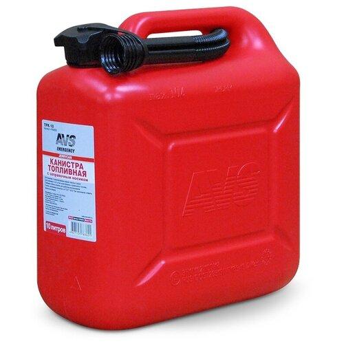 Канистра для бензина, топлива (пластик) AVS TPK-10 10 литров A78362S