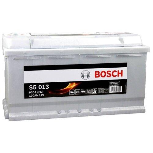 Автомобильный аккумулятор Bosch S5 013 (0 092 S50 130)