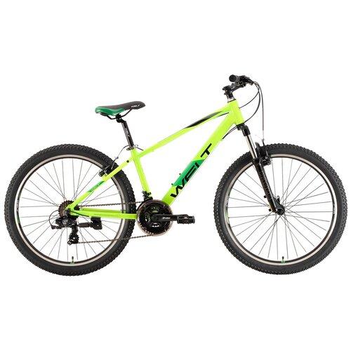 Подростковый горный (MTB) велосипед Welt Peak 26 V (2021) acid green 17 (требует финальной сборки) горный mtb велосипед kellys desire 90 2019 grey green m требует финальной сборки