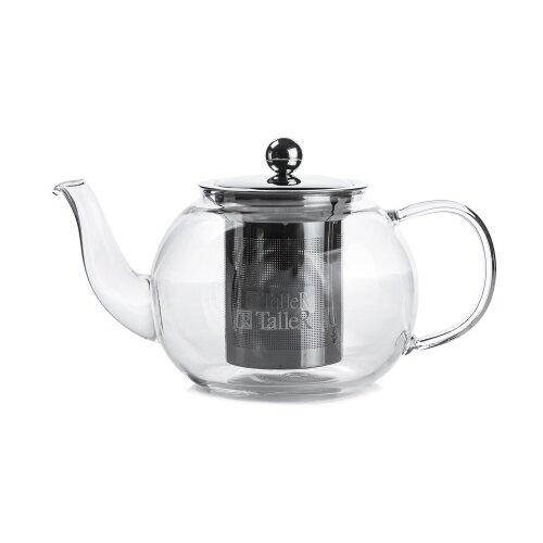 Чайник заварочный TalleR TR-31370 800 мл., термостойкое боросиликатное стекло. 1360 tr чайник заварочный taller 600 мл