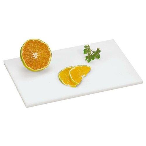 Фото - Разделочная доска Paderno 42521-16, 24.5х16 см, белый разделочная доска paderno 42538 53х32 5 см коричневый