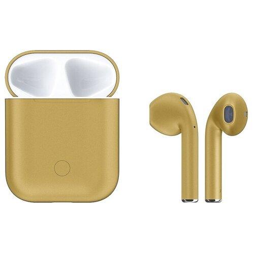 Беспроводные наушники Hoco ES28, champagne gold наушники hoco es28 original series apple champagne gold