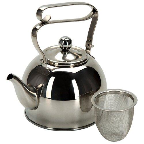 REGENT inox Заварочный чайник Promo 94-1509/94-1510 0,8 л, серебристый недорого