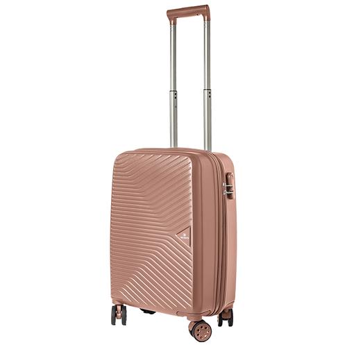 Турецкий чемодан Delvento модель Prism Rose 59 см, 35л