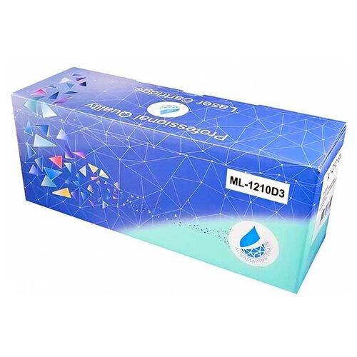 Фото - Картридж Aquamarine ML-1210D3 (совместимый с картриджем Samsung ML-1210D3) картридж aquamarine ml d3050b совместимый с samsung ml d3050b цвет черный на 8000 стр печати