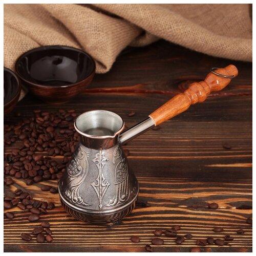 Турка для кофе медная «Орел», 0,3 л 4147122 по цене 1 037
