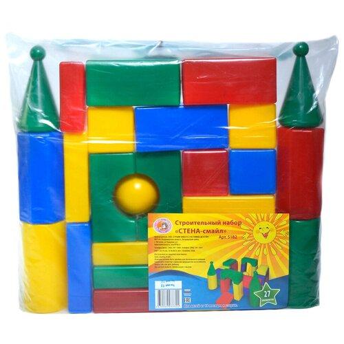 Фото - Кубики Строим вместе счастливое детство Стена-смайл 5182 кубики строим вместе счастливое детство набор 2 5253