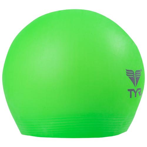 Шапочка для плавания Tyr Latex Swim Cap LCL, зелeный по цене 399