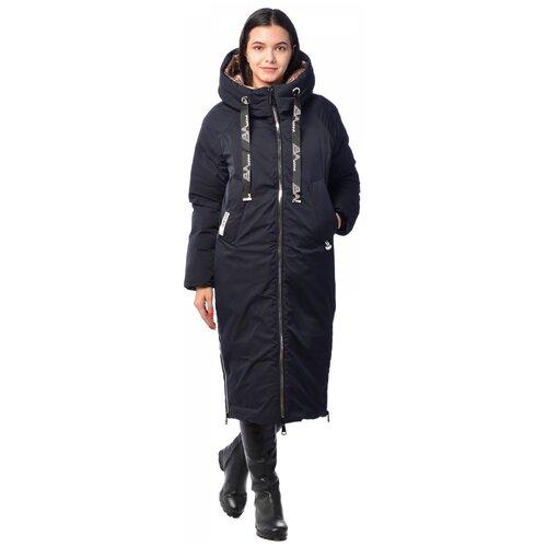 Зимняя куртка женская EVACANA 21175 (Темн. синий 494/46)