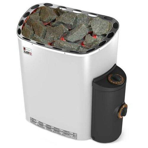 Электрическая банная печь Sawo Scandia SCA-90NB-Z серебристый/черный