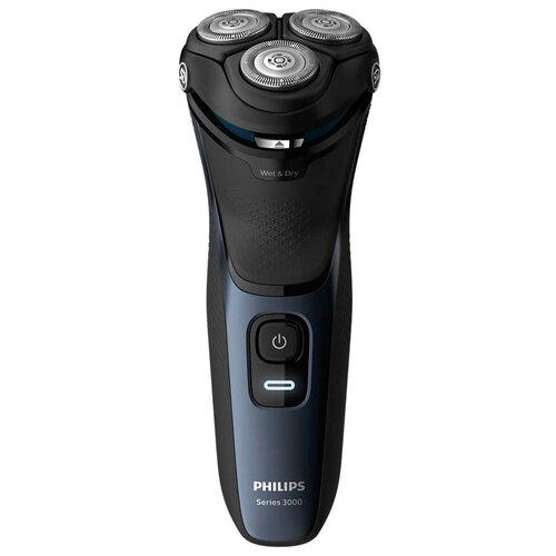 Электробритва Philips S3134 Series 3000,синий шторм электробритва philips series 3000 s3333 54 black