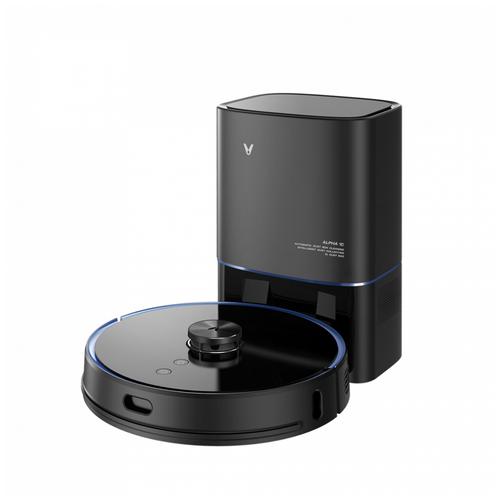 Робот пылесос с базой самоочистки Viomi S9 (Черный)
