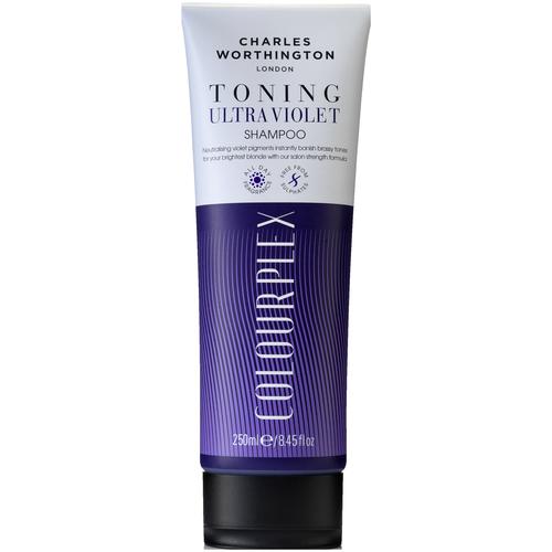 charles worthington colourplex toning blue shampoo Charles Worthington шампунь ColourPlex Toning Ultra Violet, 250 мл