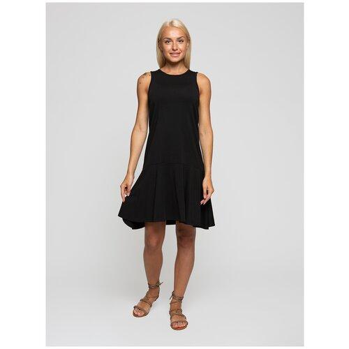 Женское легкое платье сарафан, Lunarable черное, размер 42