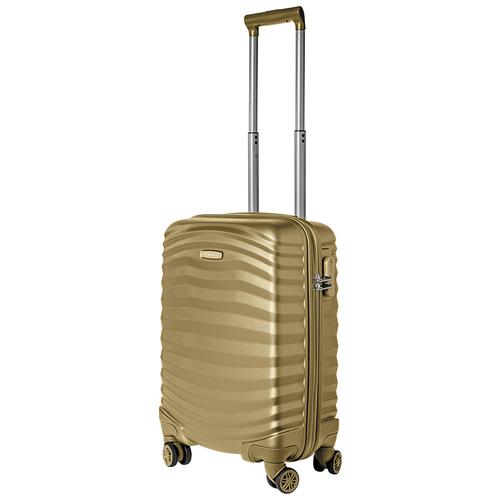 Турецкий чемодан Delvento модель Lessie Bronze 59 см, 35л