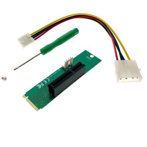 M2 NGFF to PCI-e x4 Riser card  модель EM2-PCIE Espada