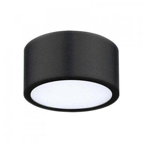 Потолочный светильник Lightstar Zolla 213917, 10 Вт, цвет арматуры: черный