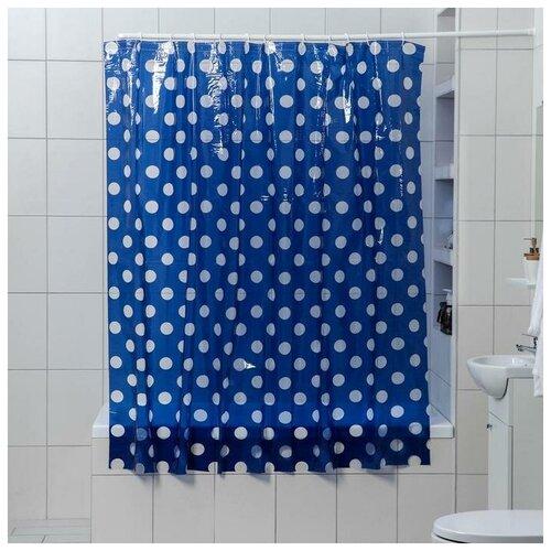 Штора для ванной Доляна Вечер 180x180 вечер штора для ванной доляна малевич 180x180 малевич