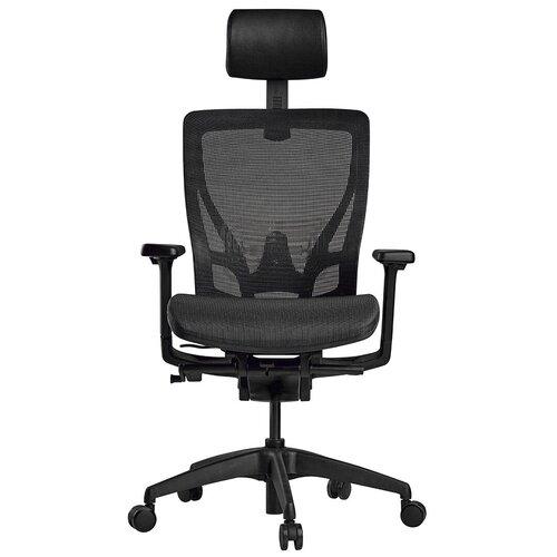 Эргономичное компьютерное кресло Schairs AEON-A01B BLACK