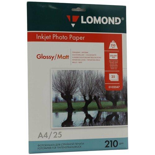 Фото - Бумага Lomond A4 Photo Paper 0102047 210 г/м² 25 лист., белый бумага lomond a4 photo paper 0102018 150 г м² 50 лист белый