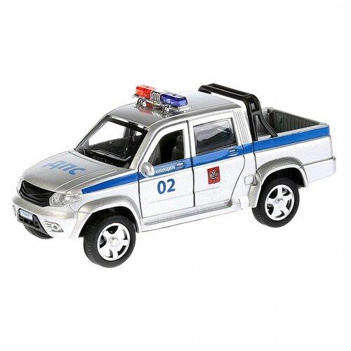Фото - Машина Технопарк UAZ Pickup Полиция инерционная 259366 машина технопарк chevrolet tahoe инерционная 280925
