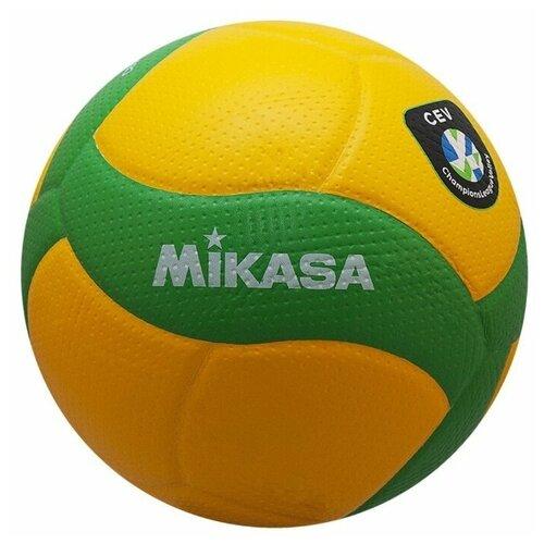 Волейбольный мяч Mikasa V200W-CEV желтый/зеленый