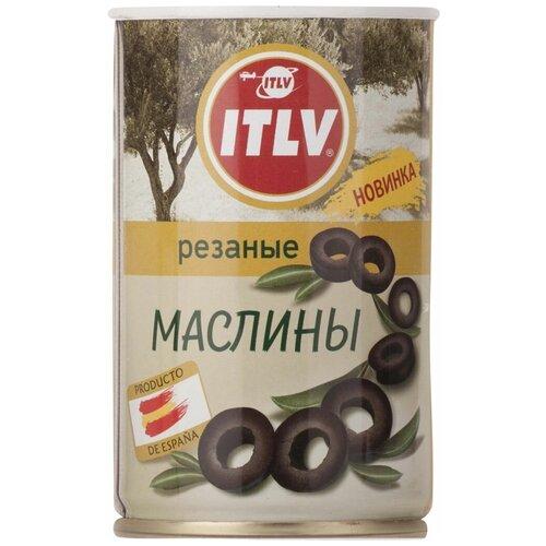 Маслины ITLV черные резаные 314 мл itlv маслины super с косточкой