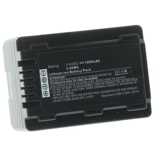 Фото - Аккумулятор iBatt iB-U1-F455 1500mAh для Panasonic HC-V770, HC-V760, HC-VXF990, HC-VX980, HC-V260, HC-V380, HC-V730, HC-VX870, HC-V710, HC-W850, HC-V270, HC-V750, HC-V510, HC-V210, HC-V530, HC-W580, HC-V230, видеокамера panasonic hc mdh3e