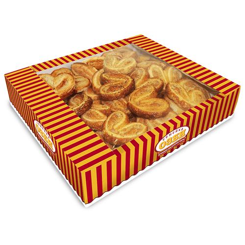Печенье Семейка ОЗБИ слоеное Мини-плюшки с маком и сахаром, 500 г печенье слоеное 550г мон шарме