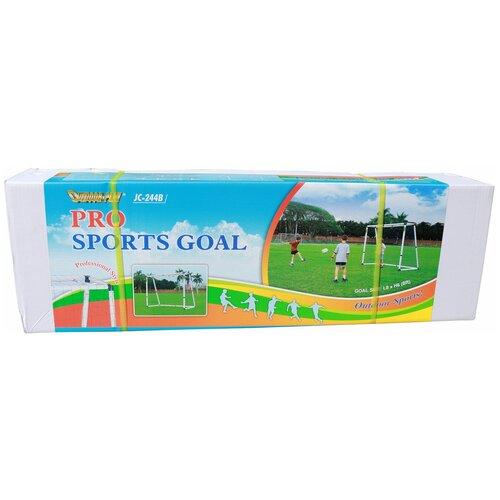 Фото - Ворота DFC GOAL244B, размер 243х182 см белый ворота dfc goal180st размер 180х90 см белый