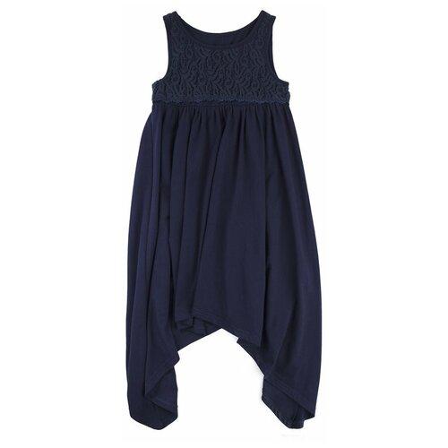 Фото - Платье playToday размер 122, темно-синий платье mayoral размер 7 122 темно синий