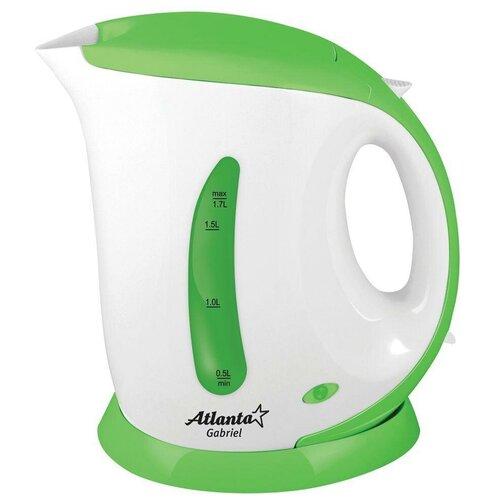 чайник atlanta ath 2463 Чайник Atlanta ATH-748, белый/зеленый