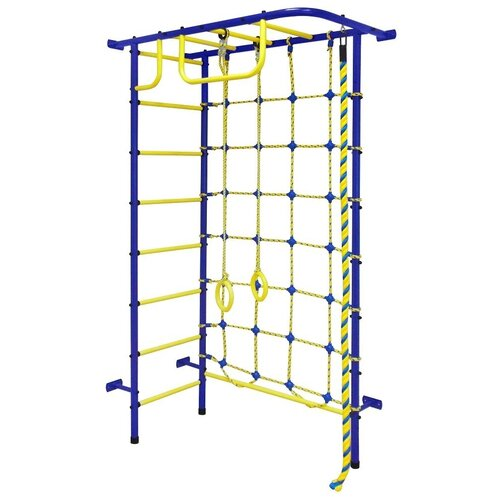 Спортивно-игровой комплекс Пионер 8М, синий/желтый