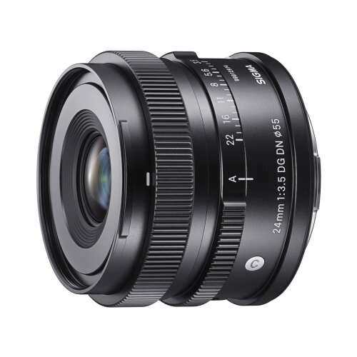 Фото - Объектив Sigma 24mm AF f/3.5 DG DN Contemporary Sony E черный объектив sigma af 85mm f 1 4 dg dn art sony e