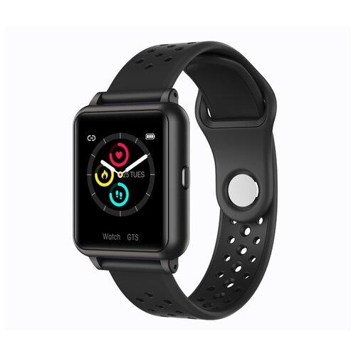 детские умные часы zdk q360 голубой Умные часы ZDK T10 Black
