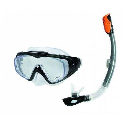 Фото - Набор для плавания Intex Aqua Pro серый набор для плавания intex aqua pro серый