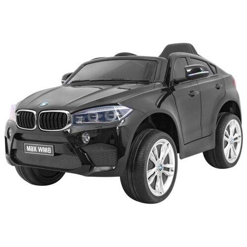 RiverToys Автомобиль BMW X6M JJ2199, черный