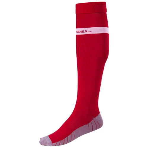 Гетры Jogel размер 32-34, красный/белый