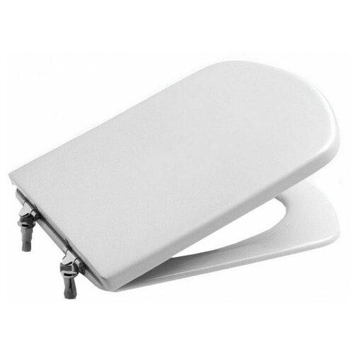 Фото - Крышка-сиденье для унитаза Roca Dama Senso 801511004 дюропласт белый крышка сиденье для унитаза roca dama senso zru9302820 дюропласт с микролифтом белый