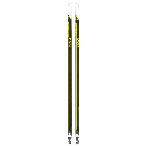 Беговые лыжи Tisa Top Skating без креплений черный/желтый/белый 2019-2020 197 см