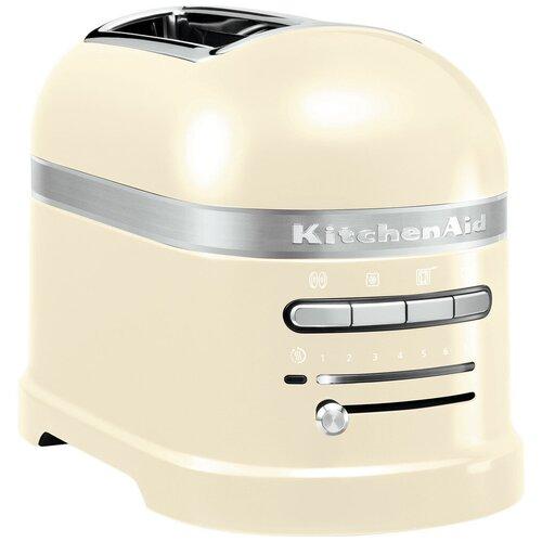 Фото - Тостер KitchenAid 5KMT2204EAC, кремовый тостер kitchenaid 5kmt2204efp морозный жемчуг