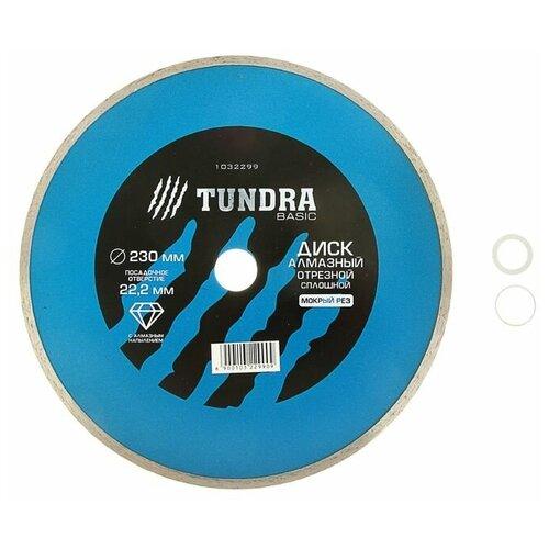 Фото - Диск алмазный отрезной TUNDRA 1032299, 230 мм 1 шт. диск алмазный отрезной tundra 1857756 125 мм 1 шт
