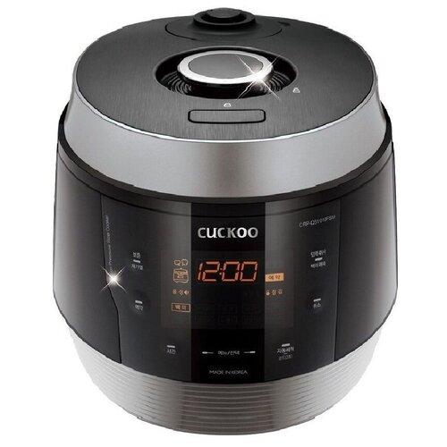 Рисоварка для варки под давлением на 10 порций Cuckoo CRP-QS1020FSM (черное серебро) рисоварка cuckoo cr 3521