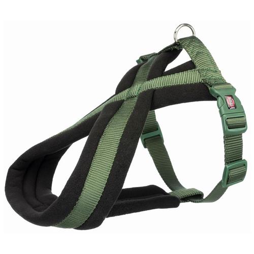 Фото - Шлейка Premium Touring, S–M: 40–70 см/20 мм, лесной шлейка для собак trixie premium touring размер s m 40–60 см 20 мм бежевый