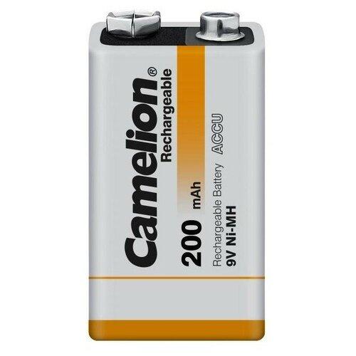 Фото - Аккумулятор Ni-Mh 200 мА·ч Camelion 6F22 SP-1, 1 шт. аккумулятор ni mh 1000 ма·ч camelion nh aaa1100 2 шт