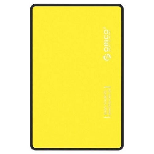 Корпус для HDD/SSD ORICO 2588US3 желтый по цене 1 070